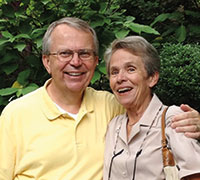 Photo of Art and Jo Ann Nelson. Link to their story.