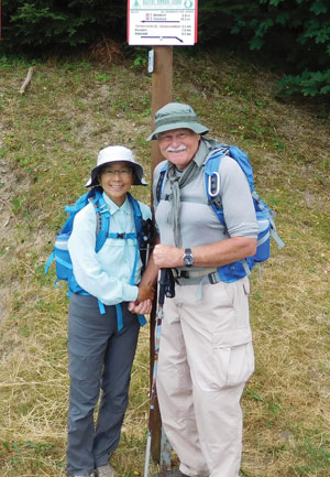 Ethel Chiang and husband Glen Freimuth